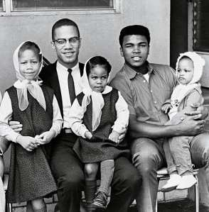 Malcolm X and Muhammad Ali